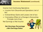 income statement continued3