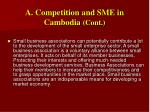 a competition and sme in cambodia cont