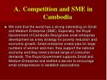 competition and sme in cambodia