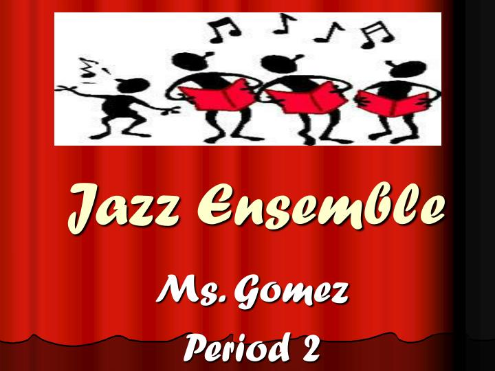 jazz ensemble n.