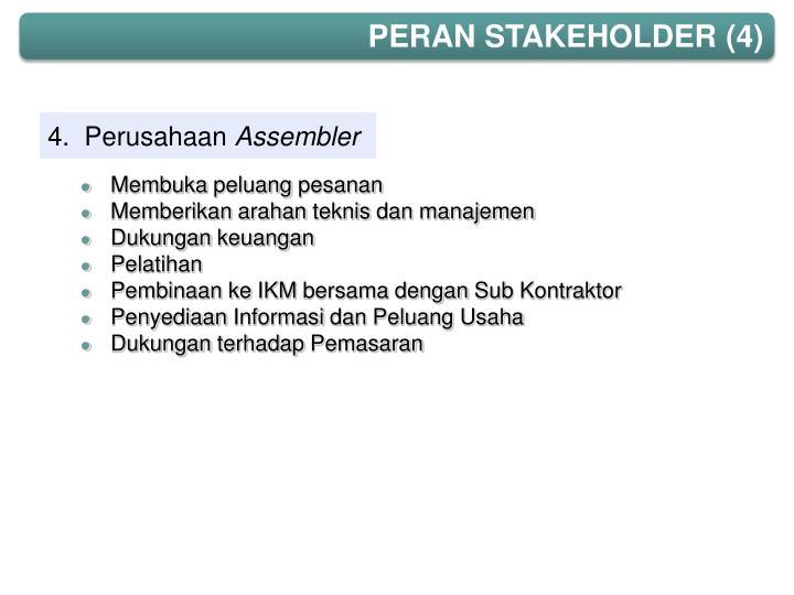 PERAN STAKEHOLDER (4)