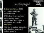 le campagne