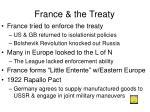 france the treaty