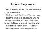 hitler s early years