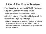 hitler the rise of nazism
