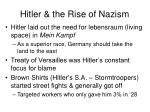 hitler the rise of nazism1