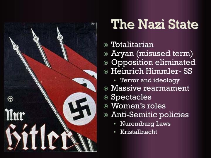 The Nazi State