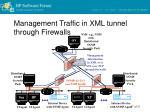 management traffic in xml tunnel through firewalls