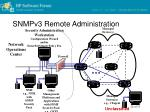 snmpv3 remote administration1