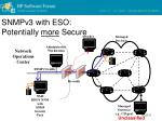 snmpv3 with eso potentially more secure