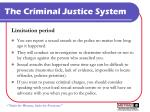 the criminal justice system9