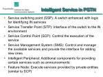 intelligent service in pstn1