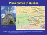 place names in qu bec