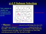 z 1 5 submm selection3