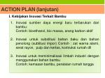 action plan lanjutan