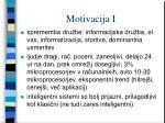 motivacija i