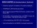 bee2 casper uc berkeley caltech werthimer