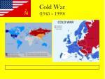 cold war 1945 1990