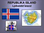 republika island l veldi sland