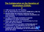 the collaborative on the genetics of alcoholism coga 2