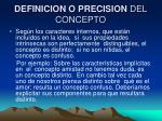 definicion o precision del concepto1
