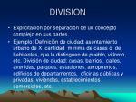 division