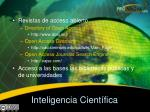 inteligencia cient fica