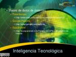 inteligencia tecnol gica
