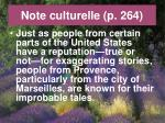note culturelle p 2641