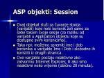 asp objekti session