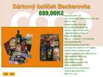 d rkov bal ek becherovka 689 00k