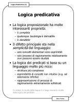logica predicativa