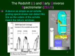 the redshift z and e arly u niverse s pectrometer zeus
