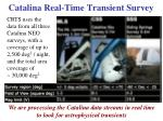 catalina real time transient survey