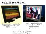 oleds the future