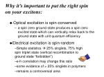 why it s important to put the right spin on your excitons