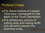 political crises