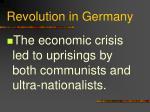 revolution in germany