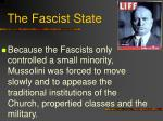 the fascist state
