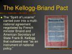 the kellogg briand pact