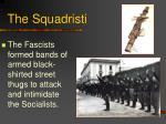 the squadristi