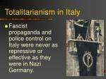 totalitarianism in italy