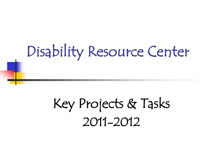 disability resource center n.