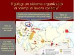 il gulag un sistema organizzato di campi di lavoro collettivi