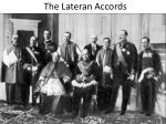 the lateran accords