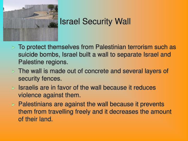 Israel Security Wall