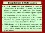 il capitalismo di stato fascista