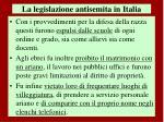 la legislazione antisemita in italia2