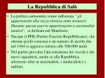 la repubblica di sal3
