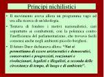principi nichilistici